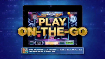 Wheel of Fortune Slots Casino TV Spot, 'On the Go' Featuring Vanna White - Thumbnail 2