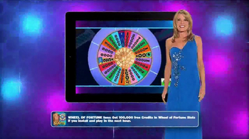 Wheel of Fortune Slots Casino TV Spot, 'On the Go' Featuring Vanna White - Thumbnail 3