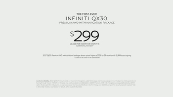 2017 Infiniti QX30 TV Spot, 'Carpool' [T2] - Thumbnail 8
