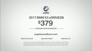 2017 BMW X3 xDrive28i TV Spot, 'Remember' Song by Blur [T2] - Thumbnail 7