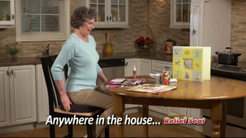 Relief Seat TV Spot, 'Lower Back Pain' - Thumbnail 7