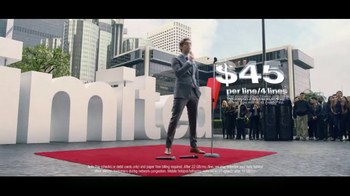 Verizon Unlimited TV Spot, 'Drop the Mic: Android' Feat. Thomas Middleditch - Thumbnail 6