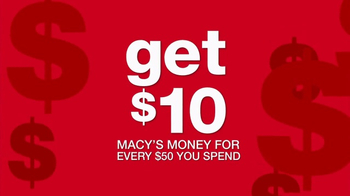 Macy's TV Spot, 'Macy's Money: Cash In' - Thumbnail 2
