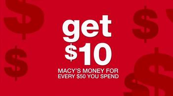 Macy's TV Spot, 'Macy's Money: Cash In' - Thumbnail 6