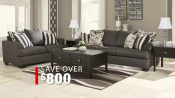 Ashley Homestore So Big Sale TV Spot, '5-Piece Living Room Group' - Thumbnail 4