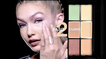 Maybelline New York Master Camo TV Spot, 'Lienzo' con Gigi Hadid [Spanish] - Thumbnail 5