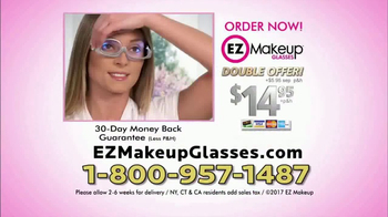 EZ Makeup Glasses TV Spot, 'Apply Makeup Easier' - Thumbnail 8