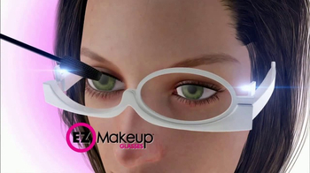 EZ Makeup Glasses TV Spot, 'Apply Makeup Easier' - Thumbnail 3