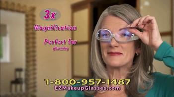EZ Makeup Glasses TV Spot, 'Apply Makeup Easier' - Thumbnail 5