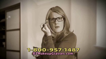 EZ Makeup Glasses TV Spot, 'Apply Makeup Easier' - Thumbnail 6
