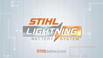 STIHL Lightning Battery System TV Spot, 'Chainsaw' - Thumbnail 8
