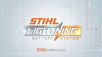 STIHL Lightning Battery System TV Spot, 'Chainsaw' - Thumbnail 2
