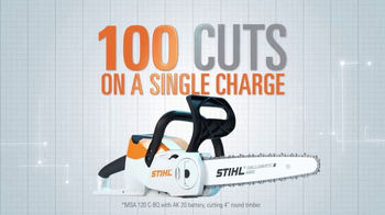 STIHL Lightning Battery System TV Spot, 'Chainsaw' - Thumbnail 3