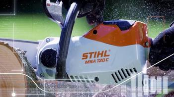 STIHL Lightning Battery System TV Spot, 'Chainsaw' - Thumbnail 4