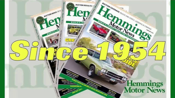 Hemmings Motor News TV Spot, 'Collector Vehicle Authority' - Thumbnail 1