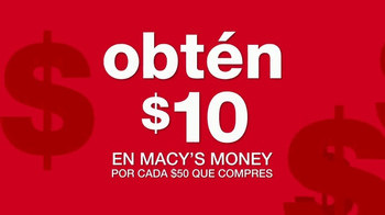 Macy's Money TV Spot, 'Aprovecha' [Spanish] - Thumbnail 2