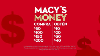 Macy's Money TV Spot, 'Aprovecha' [Spanish] - Thumbnail 3