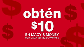 Macy's Money TV Spot, 'Aprovecha' [Spanish] - Thumbnail 6