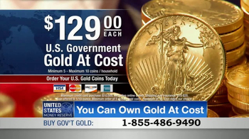U.S. Money Reserve TV Spot, 'Own Gold at Cost' - Thumbnail 6
