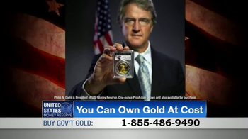 U.S. Money Reserve TV Spot, 'Own Gold at Cost' - 14 commercial airings