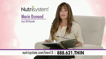 Nutrisystem Lean13  TV Spot, 'Memories' Featuring Marie Osmond - Thumbnail 1
