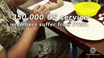 Stand for the Arts TV Spot, 'Healing PTSD for Veterans' - Thumbnail 3
