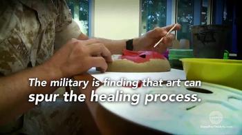 Stand for the Arts TV Spot, 'Healing PTSD for Veterans' - Thumbnail 4