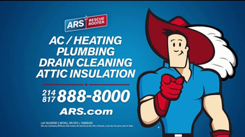 ARS Rescue Rooter TV Spot, 'A/C & Heating Hassles' - Thumbnail 9