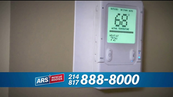 ARS Rescue Rooter TV Spot, 'A/C & Heating Hassles' - Thumbnail 6