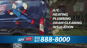 ARS Rescue Rooter TV Spot, 'A/C & Heating Hassles' - Thumbnail 7