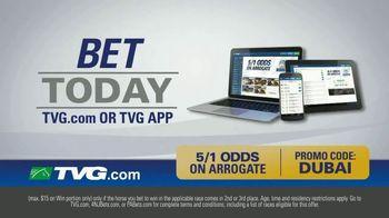 TVG Network Money Back Special TV Spot, 'Arrogate'