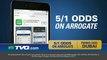 TVG Network Money Back Special TV Spot, 'Arrogate' - Thumbnail 3