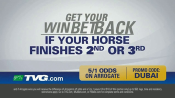 TVG Network Money Back Special TV Spot, 'Arrogate' - Thumbnail 4