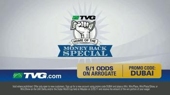 TVG Network Money Back Special TV Spot, 'Arrogate' - Thumbnail 5
