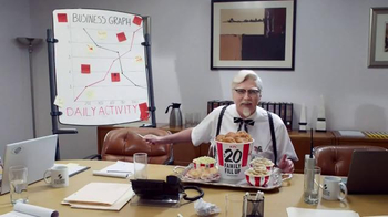 KFC Family Fill Up TV Spot, 'Everyday Business Person' Feat. Norm Macdonald - Thumbnail 7