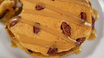 Denny's Pumpkin Pecan Pie Pancakes TV Spot, 'Autumn Alliteration' - Thumbnail 2