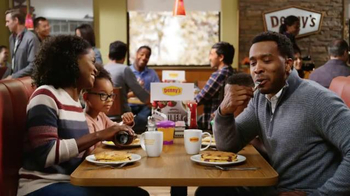 Denny's Pumpkin Pecan Pie Pancakes TV Spot, 'Autumn Alliteration' - Thumbnail 6