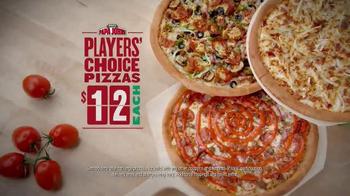 Papa John's Players' Choice Pizzas TV Spot, 'Halloween' Ft. Peyton Manning - Thumbnail 8