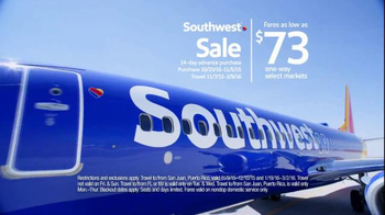 Southwest Airlines Southwest Sale TV Spot, 'Jump Off the Couch' - Thumbnail 5