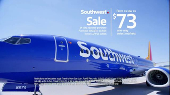 Southwest Airlines Southwest Sale TV Spot, 'Jump Off the Couch' - Thumbnail 6