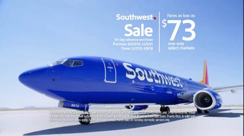 Southwest Airlines Southwest Sale TV Spot, 'Jump Off the Couch' - Thumbnail 7