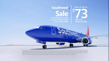 Southwest Airlines Southwest Sale TV Spot, 'Jump Off the Couch' - 2 commercial airings