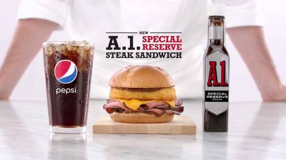 Arby's A.1. Special Reserve Steak Sandwich TV Commercial, 'Good Steak'