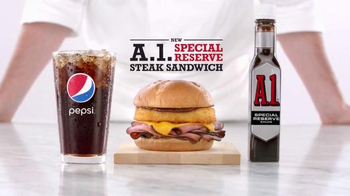 Arby's A.1. Special Reserve Steak Sandwich TV Spot, 'Good Steak' - 2689 commercial airings