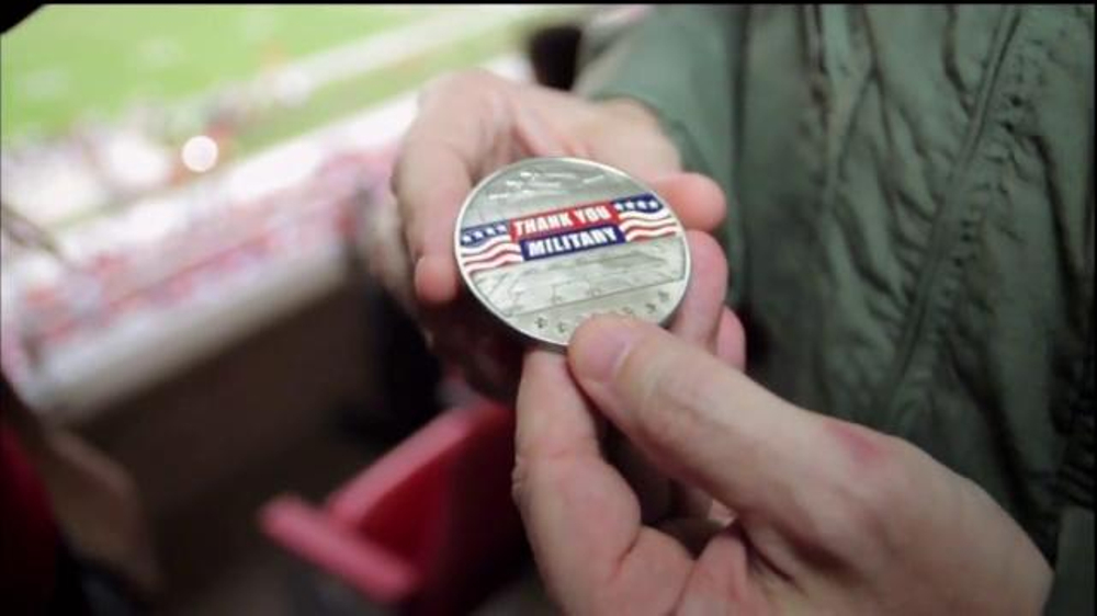 USAA TV Commercial, 'Salute to Service: Military Challenge Coin'