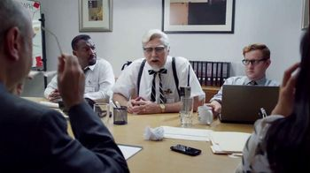 KFC $20 Family Fill Up TV Spot, 'Business Colonel' Featuring Norm Macdonald - Thumbnail 4