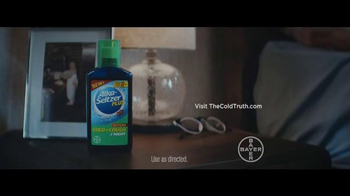 Alka-Seltzer Plus Severe TV Spot, 'The Cold Truth: Catch Up on Sleep' - Thumbnail 8