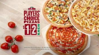 Papa John's Players' Choice Pizzas TV Spot, 'Pizza Ball' Ft. Peyton Manning - Thumbnail 9