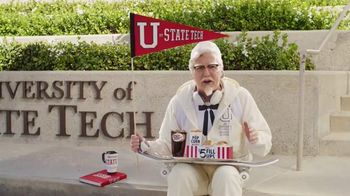 KFC $5 Fill Up TV Spot, 'College Student' Featuring Norm Macdonald - 1394 commercial airings