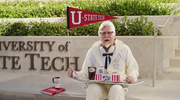 KFC $5 Fill Up TV Spot, 'College Student' Featuring Norm Macdonald - Thumbnail 1